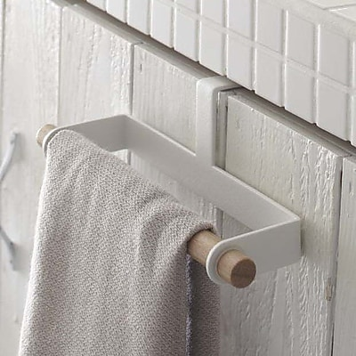 Yamazaki USA Tosca Dish 7.5'' Over-the-Door Towel Bar