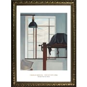 Buy Art For Less Museum Masters 'View of NewYork' by Charles Sheeler Framed Painting Print