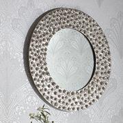 Arthouse Tondo Mirror; Silver