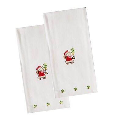 The Designs of Distinction Santa Dishcloth (Set of 2)