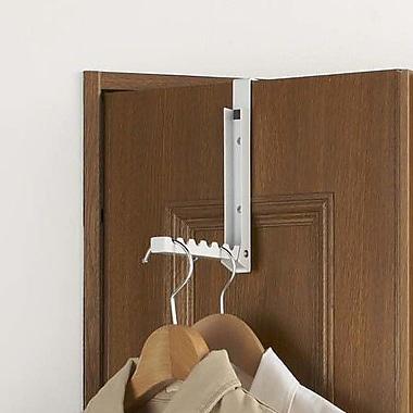 Yamazaki USA Smart Folding Overdoor Organizer; White