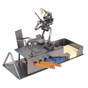 H & K SCULPTURES Executive Desk Set Organizer