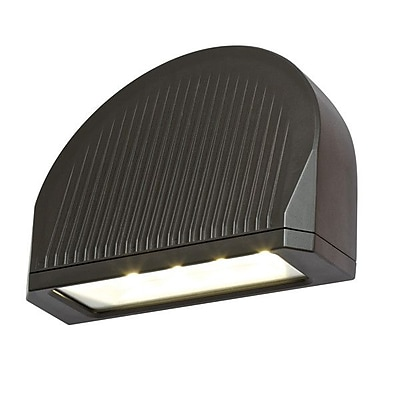 DALSLighting 70W LED Directional Arch Outdoor Wall Lighting; Black