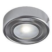 DALSLighting LED Under Cabinet Puck Light; Satin Nickel