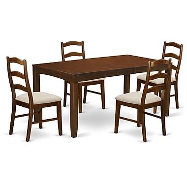 East West Lynfield 5 Piece Dining Set