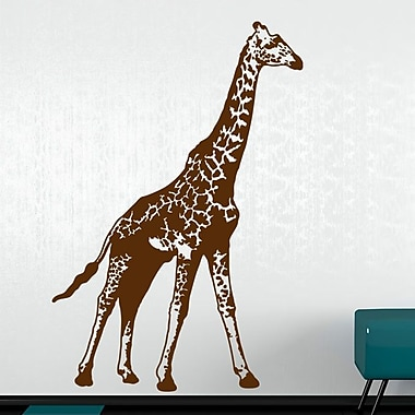 Style and Apply Giraffe Wall Decal; Green