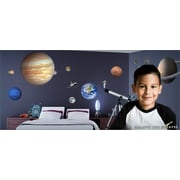 IStickUp Outer Space Wall Decal; 37'' H x 57'' W