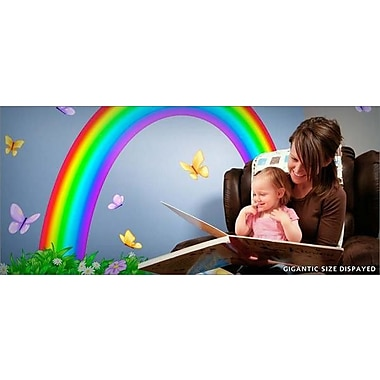 IStickUp Over the Rainbow Wall Decal; 37'' H x 57'' W