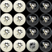 Imperial NHL Home Vs. Away Billiard Ball Set; Pittsburgh Penguins