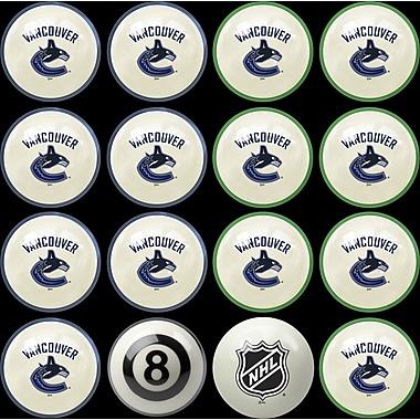 Imperial NHL Home Vs. Away Billiard Ball Set; Vancouver Canucks