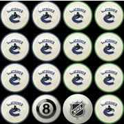Imperial NHL Home Vs. Away Billiard Ball Set; Vancouver Canucks