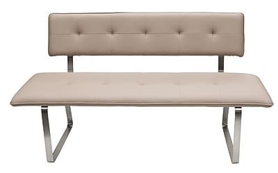 Diamond Sofa Faux Leather Bench