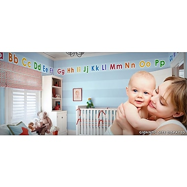 IStickUp Alphabet Wall Decal; 37'' H x 57'' W
