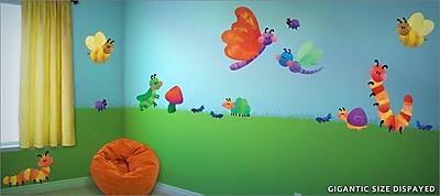 IStickUp Cute As a Bug Wall Decal; 57'' H x 37'' W