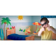 IStickUp Day at the Beach Wall Decal; 44'' H x 28'' W