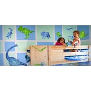 IStickUp Dinosaurs Wall Decal; 37'' H x 57'' W