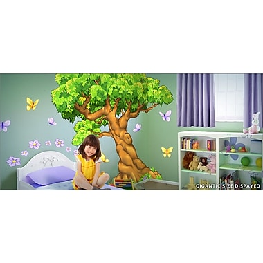 IStickUp Enchanted Woods Wall Decal; 57'' H x 37'' W