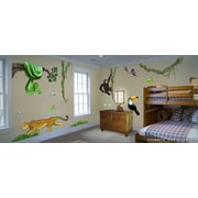 IStickUp Jungle Exploration Wall Decal; 28'' H x 44'' W