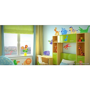 IStickUp Kid Jungle Wall Decal; 44'' H x 28'' W