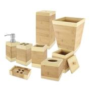 Kovot Bamboo 8-Piece Bathroom Accessory Set