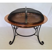 Pomegranate Solutions Heavy Duty Dome Fire Pit Spark Screen