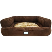 R2PPetLtd. Beautyrest Colossal Rest Orthopedic Memory Foam Extra Large Dog Bed