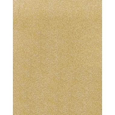 LUX 8 1/2 x 11 Cardstock 50/Box, Gold Sparkle (81211-C-MS02-50)