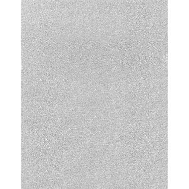 LUX 8 1/2 x 11 Paper 250/Box, Silver Sparkle (81211-P-MS01250)