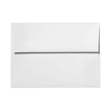 LUX A7 Invitation Envelopes (5 1/4 x 7 1/4) 250/Box, Rolland Enviro - 70lb. True White (4880-RE70W-250)