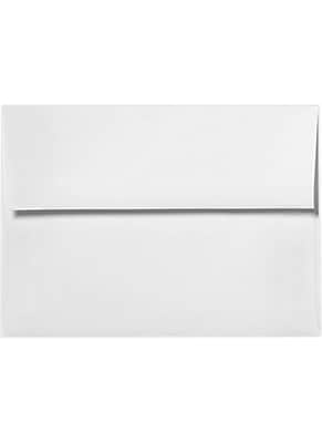 LUX A6 Invitation Envelopes (4 3/4 x 6 1/2) 50/Box, Rolland Enviro - 70lb. True White (4875-RE70W-50)