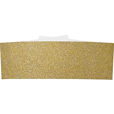 LUX A7 Belly Bands, Gold Sparkle