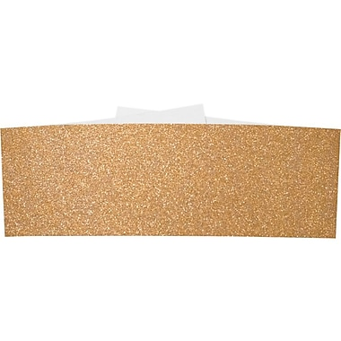 LUX A7 Belly Bands 250/Box, Rose Gold Sparkle (A7BB-MS03-250)