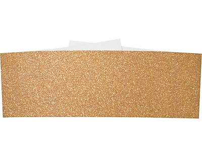 LUX A7 Belly Bands 50/Box, Rose Gold Sparkle (A7BB-MS03-50)