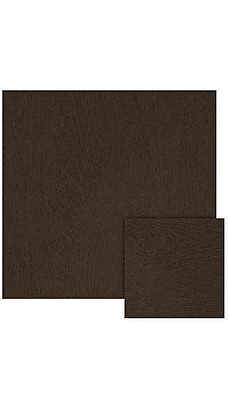 LUX A7 Drop-In Envelope Liners (6 15/16 x 6 5/8) 500/Box, Teak Woodgrain (LINER-S03-500)