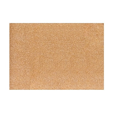 LUX A7 Flat Card (5 1/8 x 7) 250/Box, Rose Gold Sparkle (4040-MS03-250)