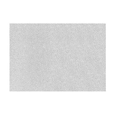 LUX A7 Flat Card (5 1/8 x 7) 1000/Box, Silver Sparkle (4040-MS01-1000)