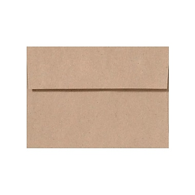 LUX A7 Invitation Envelopes (5 1/4 x 7 1/4) 1000/Box, Rolland Kraft - 24lb. Oatmeal (4880-RK70-1000)