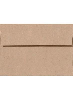 LUX A7 Invitation Envelopes (5 1/4 x 7 1/4) 1000/Box, Rolland Kraft - 24lb. Oatmeal (4880-RK70-1000)