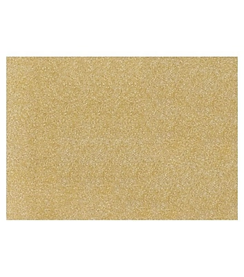 LUX A7 Flat Card (5 1/8 x 7) 500/Box, Gold Sparkle (4040-MS02-500)