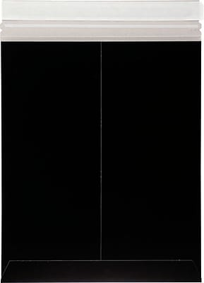 LUX 11 x 13 1/2 Colored Paperboard Mailers 1000/Box, Midnight Black (1113PBM-MB-1000)