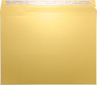 LUX Mailers (9 1/2 x 12 1/2) 50/Box, Gold Metallic (LUXMLR-M07-50)