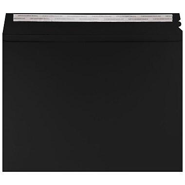 LUX Mailers (9 1/2 x 12 1/2) 1000/Box, Midnight Black (LUXMLR-B-1000)