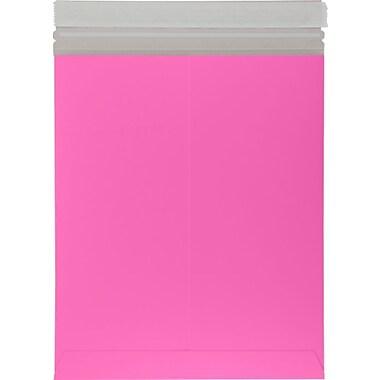 LUX 6 x 9 Colored Paperboard Mailers 50/Box, Bright Fuchsia (69PBM-BF-50)