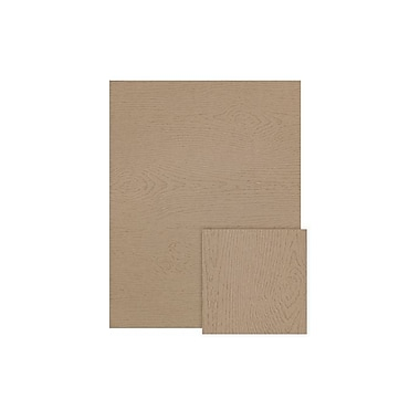 LUX 8 1/2 x 11 Cardstock 50/Box, Oak Woodgrain (81211-C-S01-50)