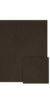LUX 8 1/2 x 11 Cardstock (8 1/2 x 11) - Teak Woodgrain - Pack of 1000 (2445019) 2445019
