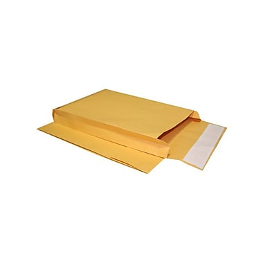 LUX 8 x 12 x 3 Expansion Envelopes 500/Box, 40lb. Brown Kraft (EXP-0213PL-500)