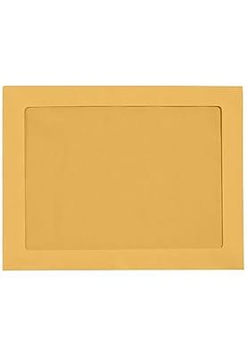 LUX 9 x 12 Full Face Window Envelopes (9 x 12) - Brown Kraft - Pack of 1000 (2444762)