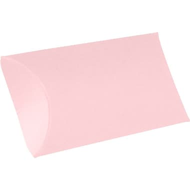 LUX Small Pillow Boxes (2 x 3/4 x 3) 250/Box, Candy Pink (LUX-SPB-14-250)