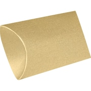 LUX Small Pillow Boxes (2 x 3/4 x 3) 1000/Box, Blonde Metallic (SPB-M07-1000)