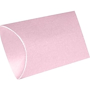 LUX Medium Pillow Boxes (2 1/2 x 7/8 x 4) 250/Box, Rose Quartz Metallic (MPB-M75-250)